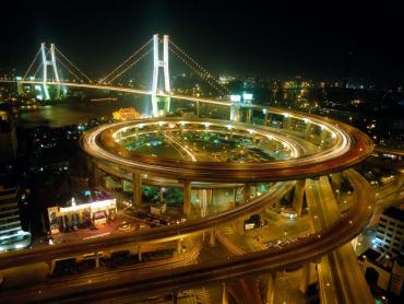 Shanghai on the rise.