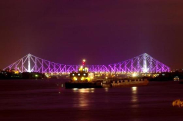 Energy demand is rising 3.6 per cent per year. A view of Howrah Bridge in Kolkata.