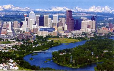 A view of Calgary.