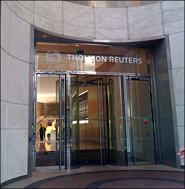 Thomson Reuters' office.