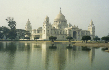 A view of Victoria Memorial Hall in Kolkata.