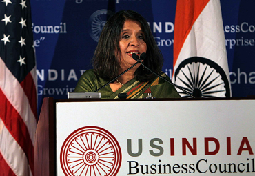 Nirupama Rao, India's Ambassador to the US.