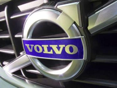 The Volvo logo.