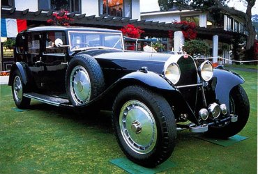 Bugatti was all about luxury.