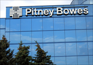 Pitney Bowes.
