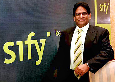 Raju Vegesna, CEO and Managing Director, Sify Technologies.