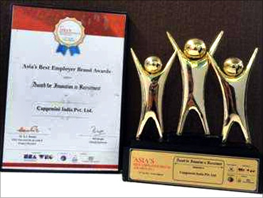 Capgemini wins Asia's Best Employer Brand Awards 2011.