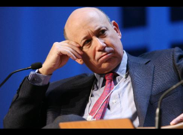 Lloyd Blankfein's compensation shot up by more than 1,200 per cent.