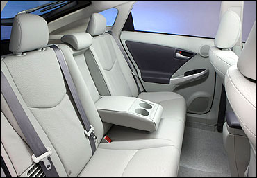 The interiors of XUV500.