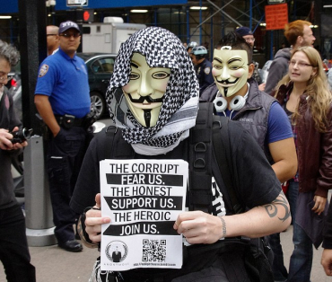 Protestors want to reclaim Wall Street for the masses.
