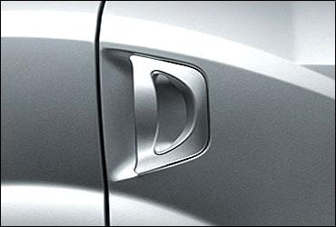 Paw-style door handles.
