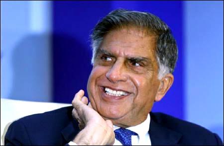 Ratan Tata, Chairman of the Tata group.
