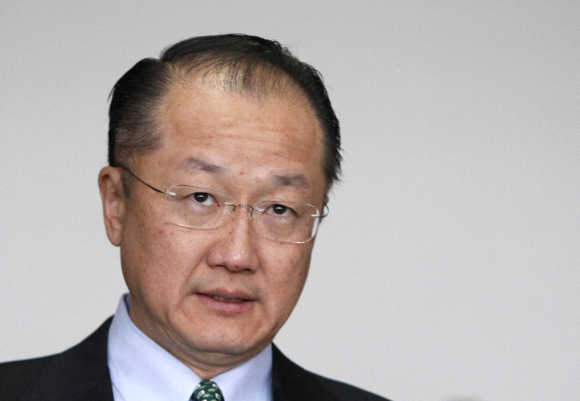 US nominee Jim Yong Kim.