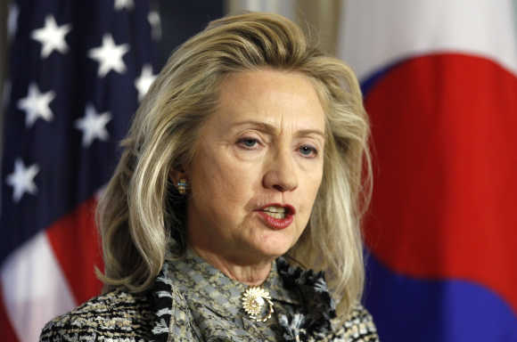 Secretary of State Hillary Clinton.
