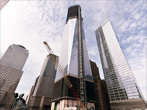 One World Trade Centre, March 2012.