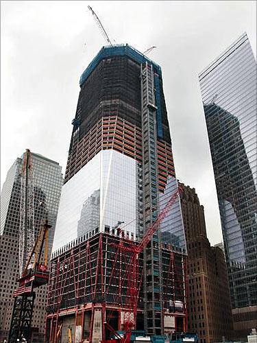 The stunning World Trade Centre is 100 storeys high!