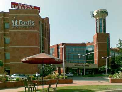 Apollo's main competitor Fortis Healthcare