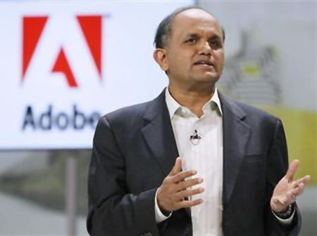 Adobe CEO and president, Shantanu Narayen