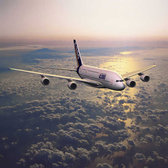 Stunning images of Airbus A380