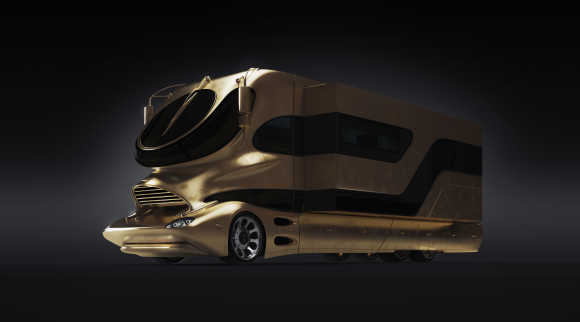 Amazing images of an unbelievable motorhome