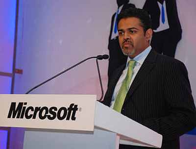 Sanket Akerkar, managing director of Microsoft India.