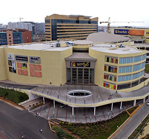 Inorbit Mall, Hyberabad.