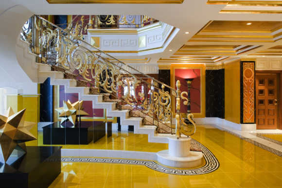 Amazing images of Burj Al-Arab's Royal Suite