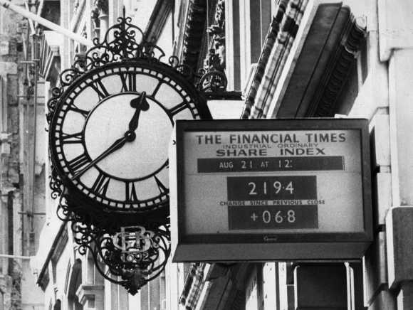 Iconic and historic photos of London Stock Exchange