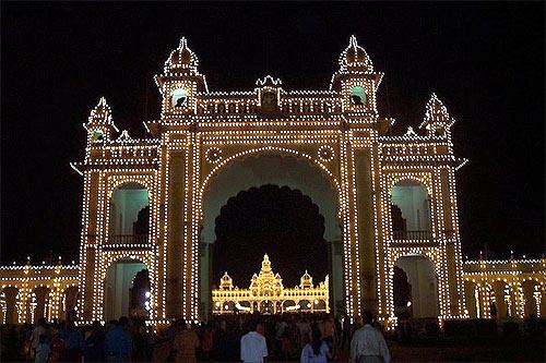 Palace main gate.