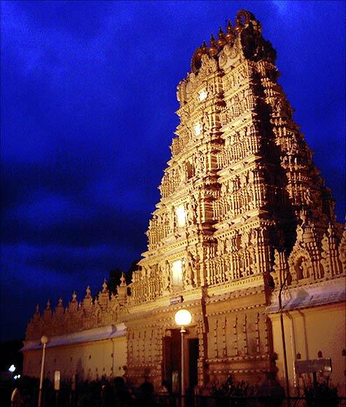 Mysore Palace Temple.