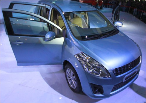 Maruti to launch Ertiga to take on Toyota