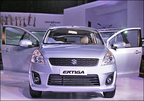 The stunning Maruti Ertiga: A sneak peek