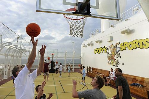Goofy's Sports Deck.