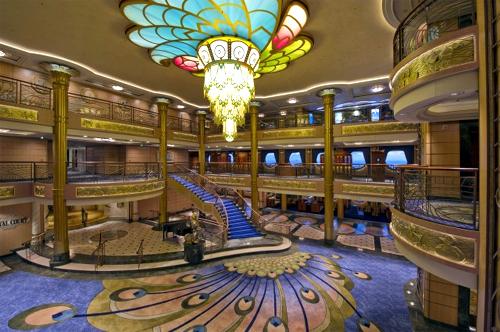 Atrium lobby.