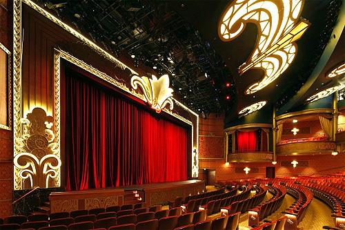 Walt Disney Theatre.