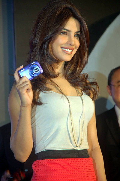 Priyanka Chopra launches Nikon's summer range series