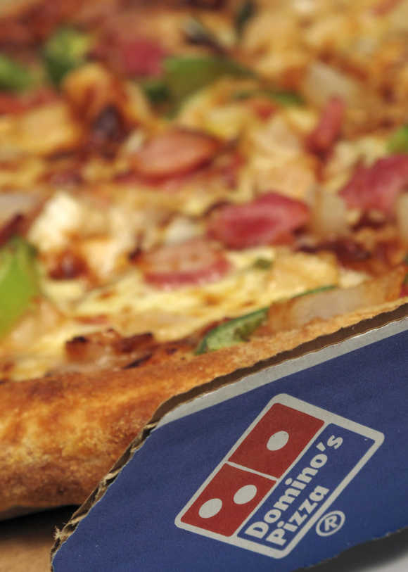 Domino's has 439 stores across 100 cities.