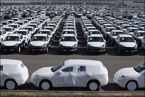 Total car sales in India in 2011-12 stood at 20,16,115 units.