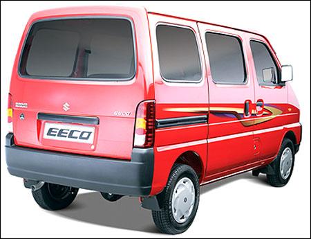 Maruti Suzuki Eeco.