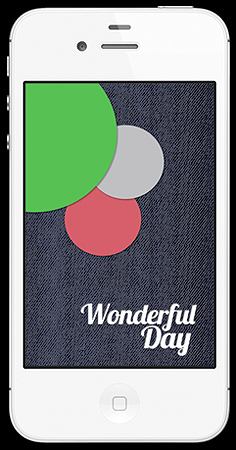 WonderfulDay app.