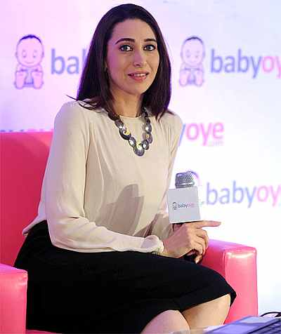 Karisma Kapoor launches Babyoye.com