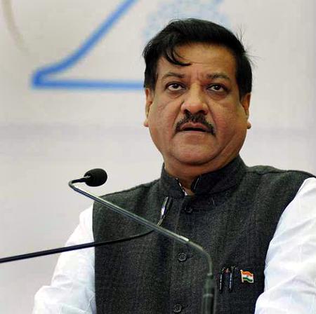 Maharashtra Chief Minister Prithviraj Chavan.