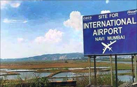 Site for Navi Mumbai International Airport.