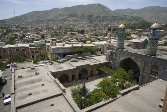 A general view of Sanandaj.