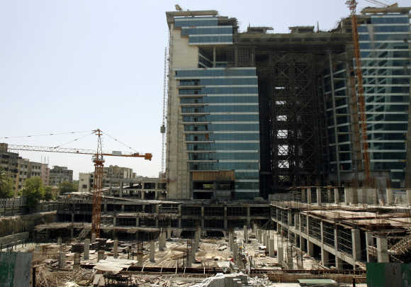 A building under construction in Mumbai. Photo is for representation purposes only.