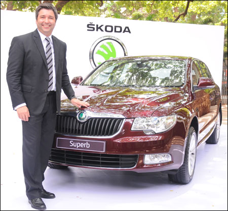 Thomas Kuehl, Brand Head, Skoda Auto India.