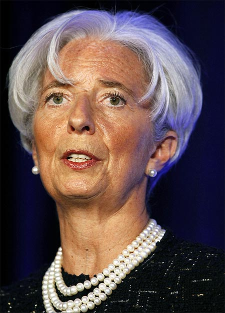 Director of the International Monetary Fund Christine Lagarde.