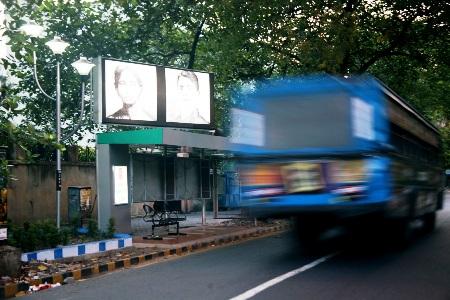 A Kolkata road.