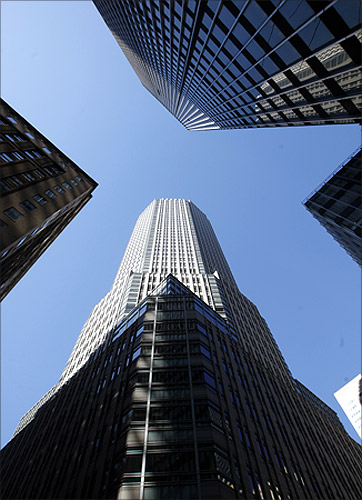 JPMorgan Chase & Co building (top).