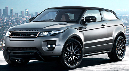 Land Rover Evoque.